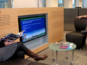 Corporate Lobby Visitor Digital Signage