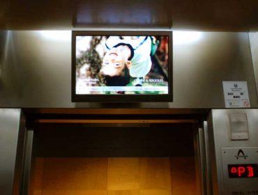 Elevator Display Sign Uruguay and Peru