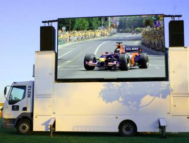 Mobile Advertising LED Display