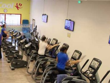 Gym Fitness digital displays in France